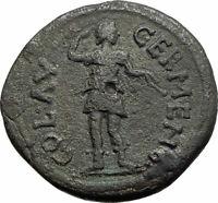 COMMODUS 177AD Authentic RARE Ancient GERMA GALATIA Roman Coin w ARTEMIS i74606
