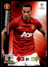 Panini Champions League 2012-2013 Adrenalyn XL Ferdinand Manchester United FC