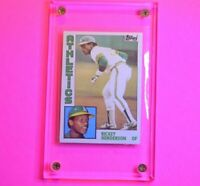 RICKEY HENDERSON 1984 Topps Baseball # 230 Oakland Athletics HOF Nm-Mt NmMt