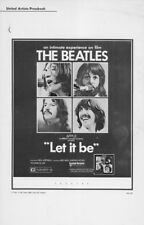 LET IT BE pressbook, The Beatles, John Lennon, Paul McCartney, Ringo Starr