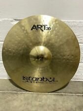 """More details for istanbul agop art20 ride cymbal 20"""" cymbal drum accessory"""