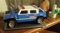 """Tonka Police 👮  Hummer  w/Lights & Sound """" unit 88 in route over"""" Vintage 2003"""