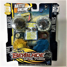 HASBRO Beyblade METAL FUSION ROCK ORSO BB51A VS FLAME ARIES B109 Battle Boy Toy