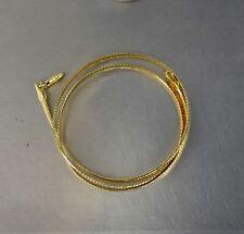 Estate Necklace 17-17.75 11.1g x38 CrazieM 925 Silver Vintage Southwest