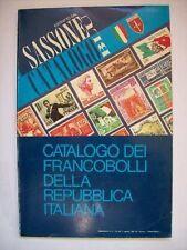 CATALOGO DEI FRANCOBOLLI DELLA REPUBBLICA ITALIANA 1982 SASSONE BLU 1983 ( aa5 )