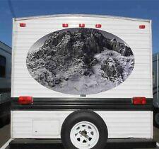 1 RV TRAILER CAMPER  MOUNTAIN SCENE GRAPHIC DECAL-64