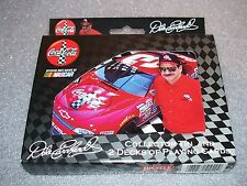 DALE EARNHARDT / COCA-COLA Collectors Tin with 2 decks of Bicycle Playing Cards