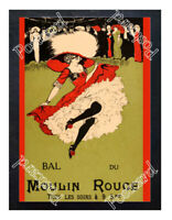 Historic Moulin Rouge Nightclub 1900s Advertising Postcard 4