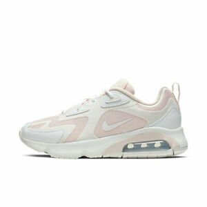NIKE AIR MAX 200 WOMENS SPORTS RUNNING TRAINERS NEW SOFT PINK AT6175 600 3.5-7.5