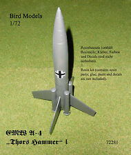 "EMW A-4 ""Thors Hammer"" I      1/72 Bird Models Resinbausatz / resin kit"
