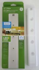 x2 NEW GE 17446 Wireless 12 in.100 Lumens, White LED Utility Light