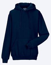 Russell Hooded Men's Casual Hoodie Sweatshirt M French Navy
