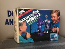 Ideal Original 1987  Rock 'em Sock 'em Robots w/Original Box And Complete Look !