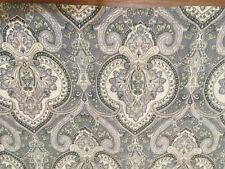 (Lauren )Ralph Lauren King Size Pillow Sham Slate Blue/White/Gray Paisley