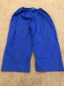 Vintage Peter Storm Blue Waterproof Trousers Size Large 36.5in Length