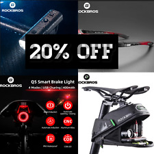 NEW bike /cycling accessories bundle with front &rear usb rechargeable led light