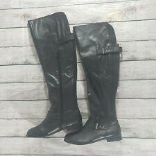 Bar III Daphne Block-Heel Over-The-Knee Women Black 6.5M