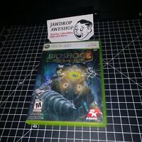 (REPLACEMENT CASE+MANUAL ONLY) BIOSHOCK 2 XBOX 360 (NO GAME INCLUDED)