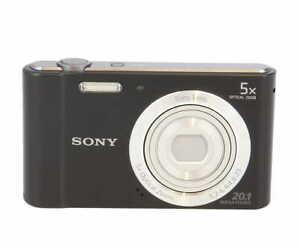 Sony Cyber-Shot DSC-W800 Digital Camera, Black {20.1 M/P} LM