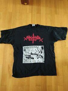 Sarcofago Shirt Sepultura Slayer Blasphemy Hellhammer