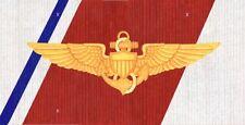 Coast Guard Aviator Wings License Plate -LP453