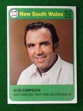 Scanlens Cricket Card 1978 Bob Simpson N.S.W