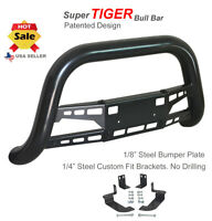 Super Tiger Bull Bar Fits 98-03 Dodge Durango Black Powdercoated Bumper Guard