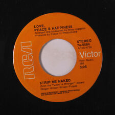 LOVE, PEACE & HAPPINESS: Strip Me Naked / Unborn Child 45 (70s Crossover Soul)