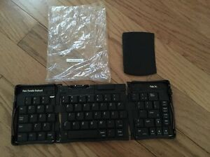 Palm Pilot Portable Folding Keyboard Part Number 180-2898 Plus Other Accessory