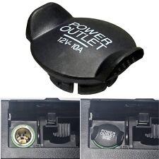 Power 12V Socket Lighter Cigarette Outlet Cover Cap For Ford Focus Fiesta Mondeo