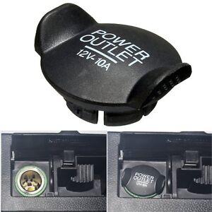 Power Socket Lighter Cigar Outlet Cover Cap For Ford Focus Fiesta Mondeo .、