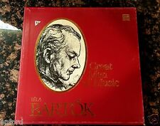 BELA BARTOK GREAT MEN OF MUSIC ORCHESTRA CLASSIC Vinyl Disc LP's TIMELIFE RECORD