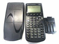 EUC TEXAS INSTRUMENTS TI-86 Graphing Calculator - Cover & New Batteries TESTED
