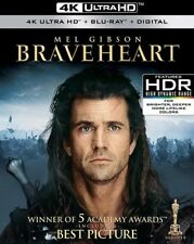 BRAVEHEART   (4K ULTRA HD ) - Blu Ray -Region free