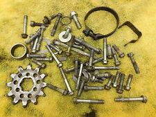 2000 Kawasaki KX125 Odd hardware parts lot case bolts etc. 00 KX 125