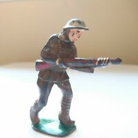 Barclay Manoil Vintage Toy Soldier Lead Toy Figure Rifle