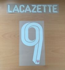 THERMOPATCH Official Adidas Arsenal Home CUP Nameset LACAZETTE 9 2019/20