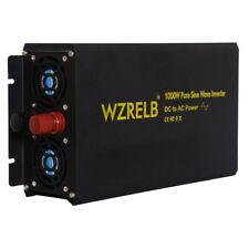 12V to 120V 60Hz Dc to Ac Power Inverter 1000W Pure Sine Wave Inverter Converter