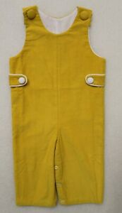 INFANT TODDLER BOY'S LIGHTWEIGHT CORDUROY LONGALLS, OVERALLS DELANEY CHOICE SIZE