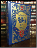 The Count of Monte Cristo by Alexandre Dumas New Sealed Leather Bound Gift Ed.