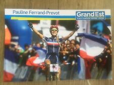 Mountain Bike Star Pauline FERRAND PREVOT carte karte 10x15 cm