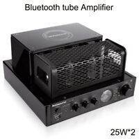 Nobsound MS-30D hifi bluetooth tube Amplifier 25W*2 Support USB headphone output