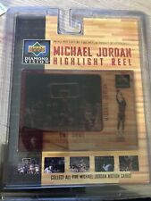 Upper Deck Diamond Vision Michael Jordan Highlight Reel #1 The Shot