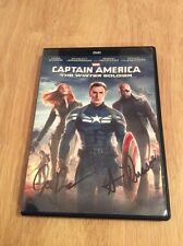 SIGNED x2 Captain America The Winter Soldier Anthony& Joe Russo Marvel Disney