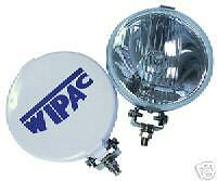 "PAIR OF WIPAC CLASSIC STYLE 51/2"" CHROME DRIVING LAMP MINI"