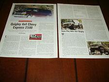 2003 QUIGLEY 4X4 CHEVROLET VAN   ***ORIGINAL ARTICLE***