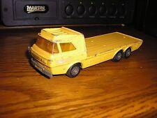 "Rare 1974 1/40 ? 6 1/2"" Matchbox Superkings Construction Transporter Flat Bed"