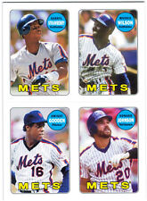 2013 Topps Archives 1969 4-in-1 Stickers Insert #69S-SWGJ Darryl Strawberry/Mook