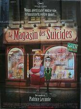 LE MAGASIN DES SUICIDES Affiche Cinéma / Movie Poster PATRICE LECONTE
