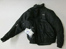 Nitro N-65 Waterproof Black Textile Motorcycle Jacket (SMALL)